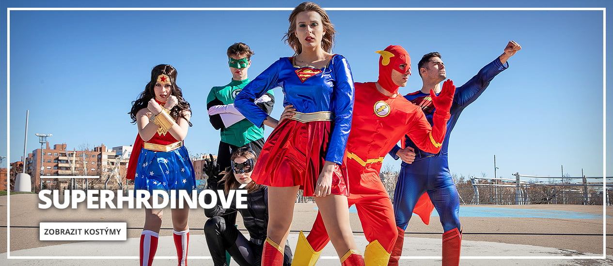 Kostýmy superhrdinové & padouši