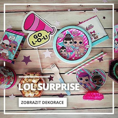 LOL Surprise Párty & Dekorace