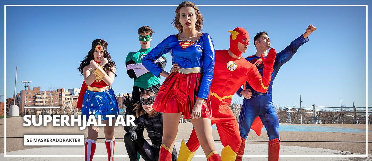 Maskeradkläder Superhjältar & Skurkar