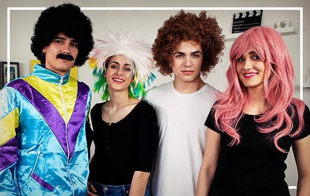 זול wigs עבור קרנבל הצדדים הצדדים