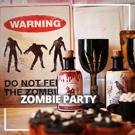 Zombies Mottoparty