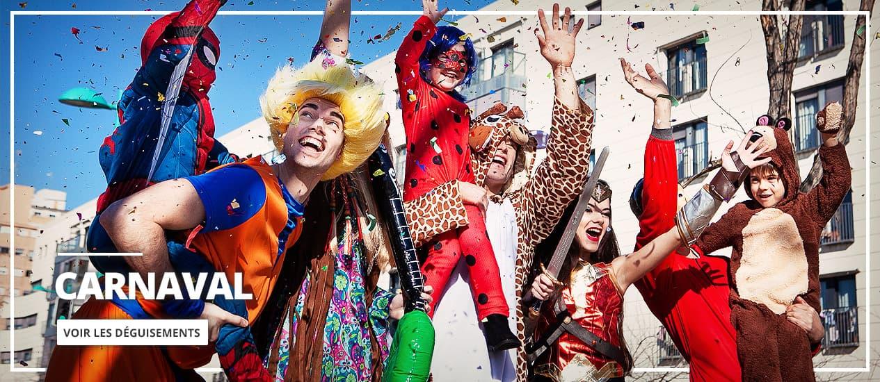 Déguisements originaux Carnaval 2021: homme, femme et enfants