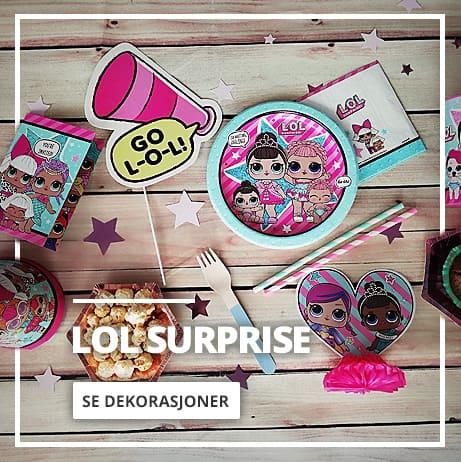 LOL Surprise Fest & Dekorasjon