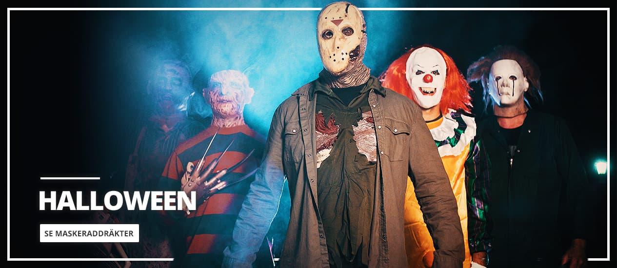 Maskeraddräkter originella Halloween 2020