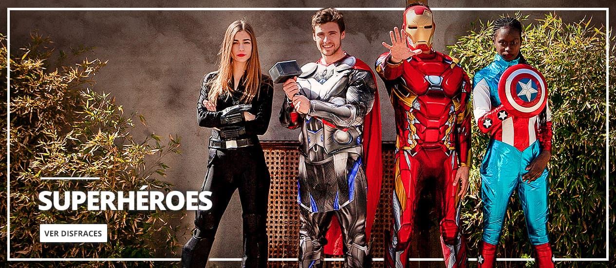 Disfraces de Superhéroes y Trajes de Villanos