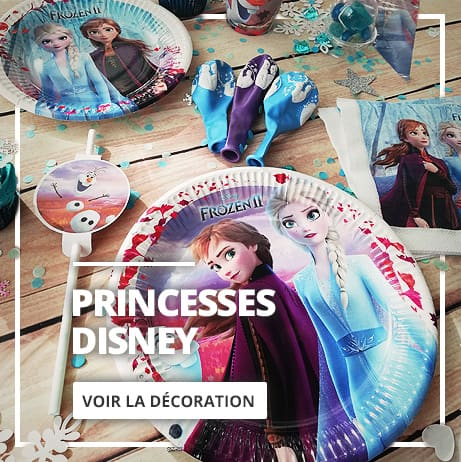 Décoration de Princesses Disney