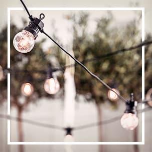 Hochzeit Lichter