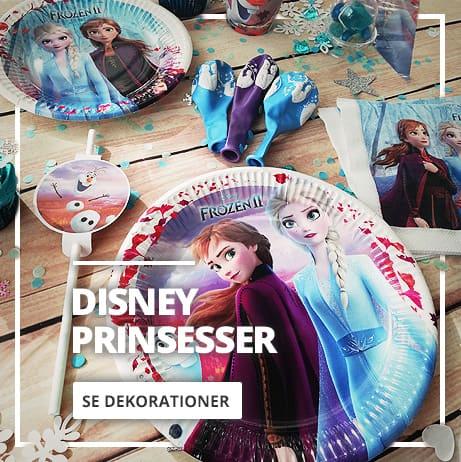 Disney Prinsesser Dekoration