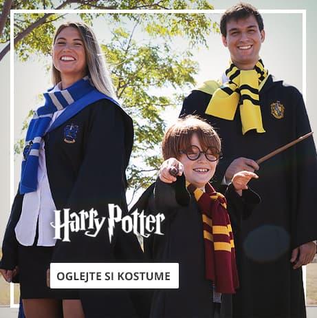 Kostumi Harry Potter za otroke in odrasle