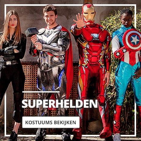 Superhelden: kostuums en accessoires