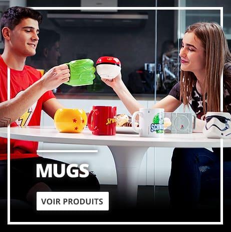Mugs geeks et originaux