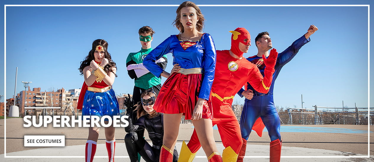 Superhero Costumes & Villain Fancy Dress