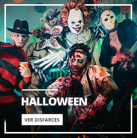 Halloween: fatos, acessórios e decoraçao per festa