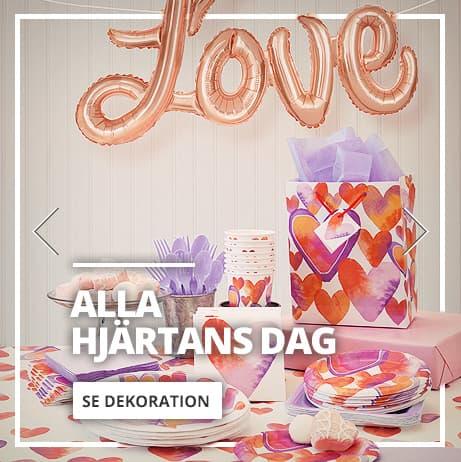 Alla Hjärtans Dag Dekorationer
