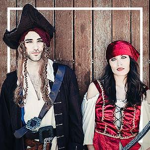 Pirate, Corsair & Buccaneer Costumes