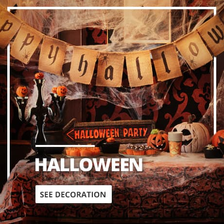 Halloween decorations » Ideas for a scary party
