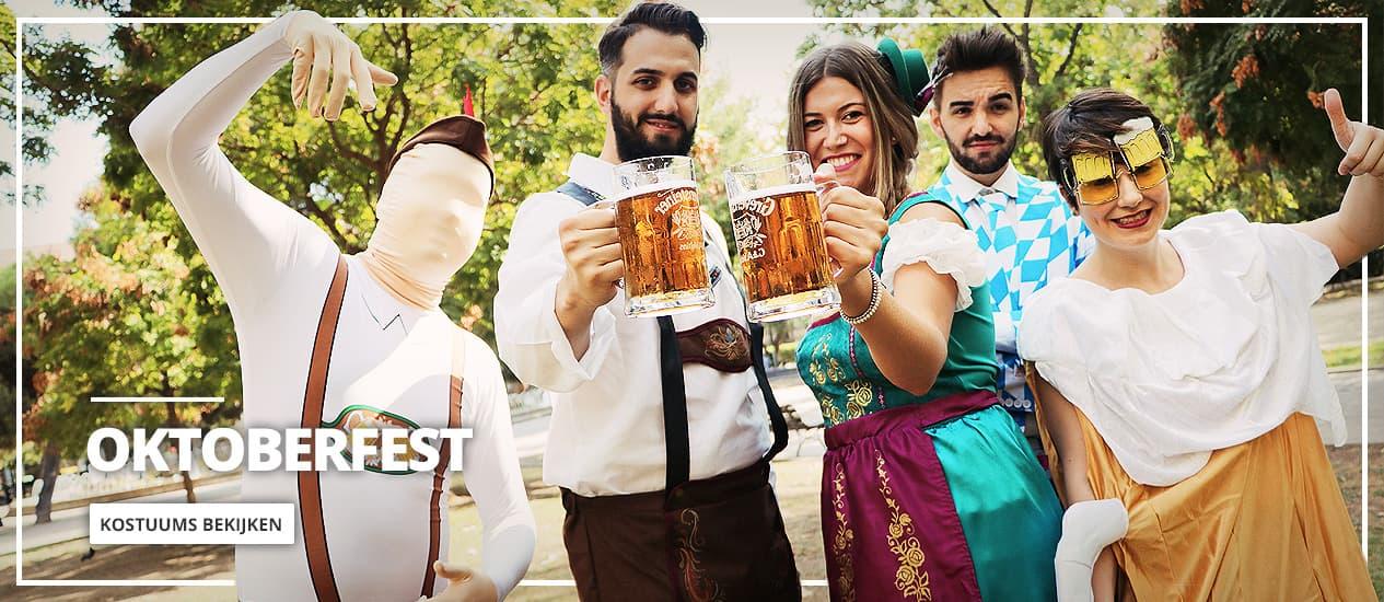Oktoberfest: Kostuums, accessoires en versiering