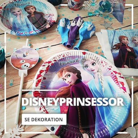 Dekoration Disney Prinsessor