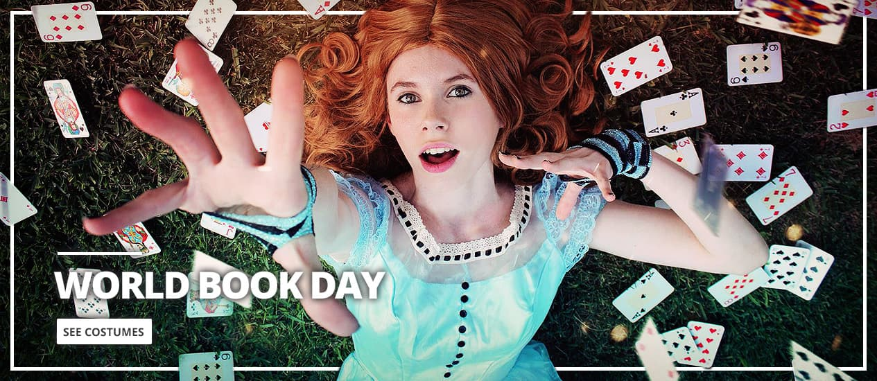 World Book Day Costumes: your characters from books, fairytales and comics