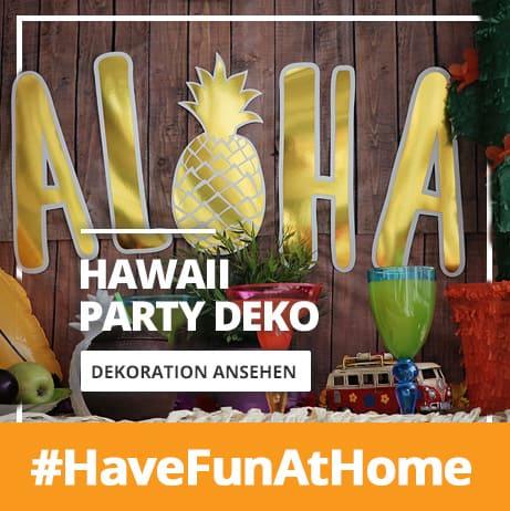 Hawaii Partydeko