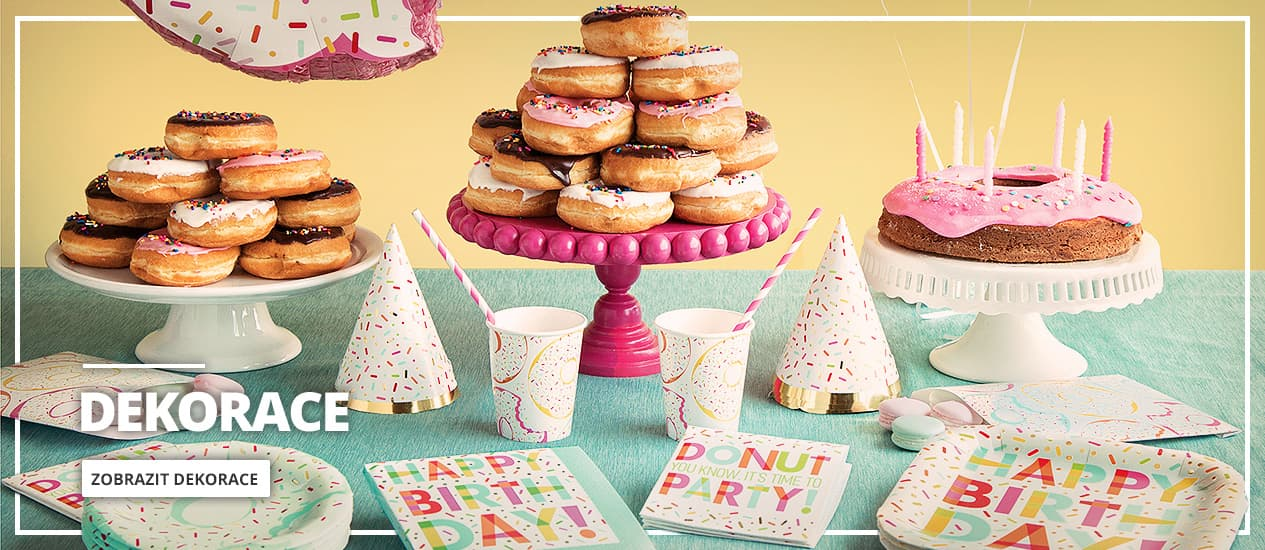 Dekorace na party a narozeniny