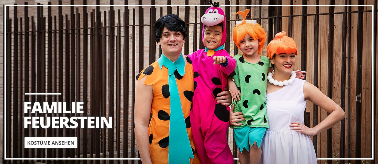 Familie Feuerstein Kostüme