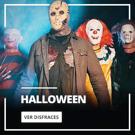 Fiesta Halloween: Disfraces de miedo, máscaras de terror y decoración Halloween