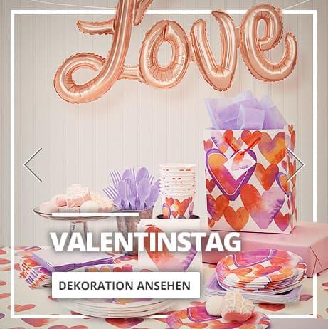 Valentinstag Dekoration