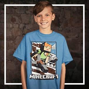 Minecraft Trička a T-Shirts