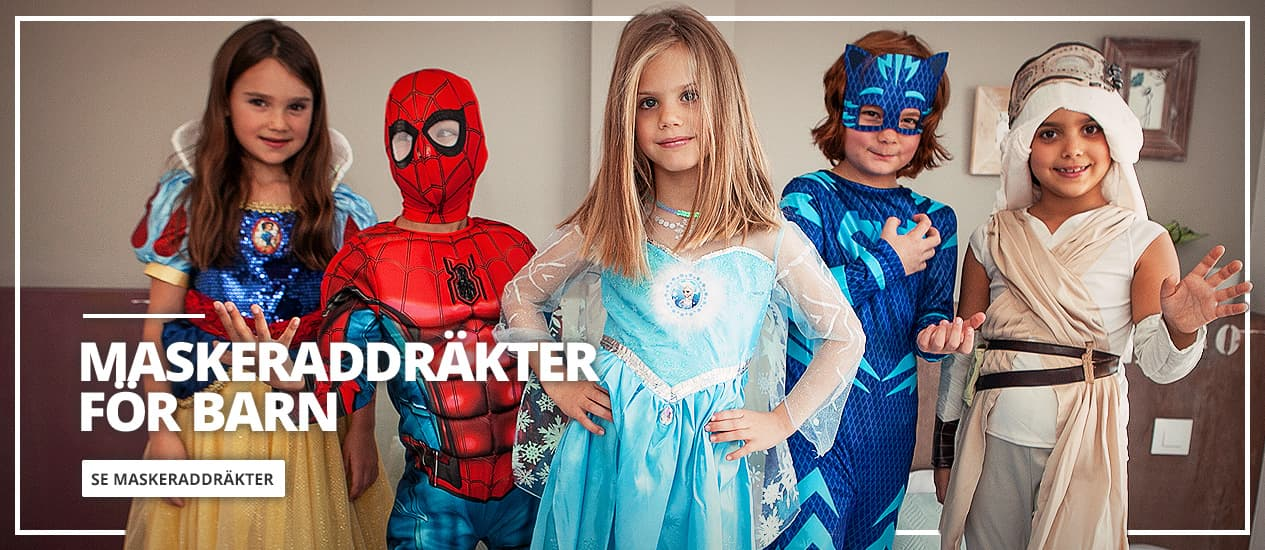 Maskeradkläder för barn