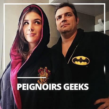 Peignoirs geeks