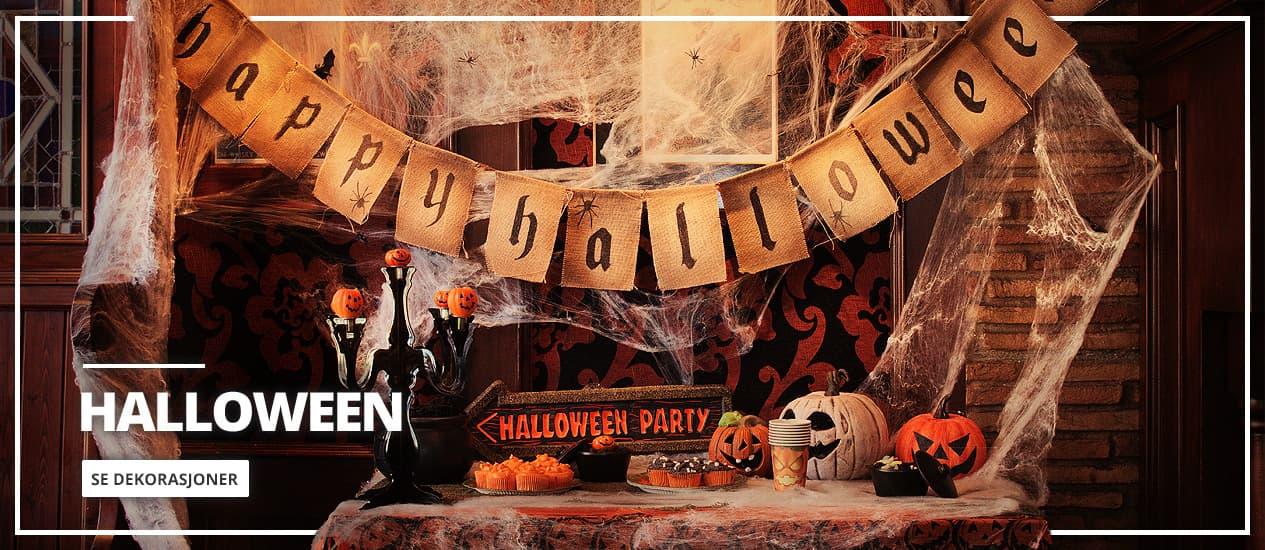 Halloween dekorasjoner