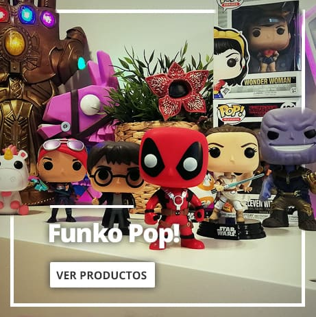 Figuras Funko Pop! y muñecos Pop!