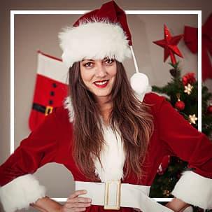 Weihnachtsfrau