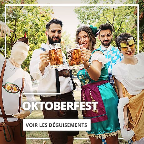 Oktoberfest: Déguisements, accessoires et décoration