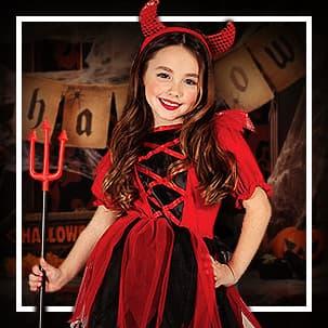 Demoner og djevler Kostymer til jente og dame