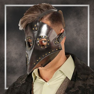 Máscaras Médico da peste