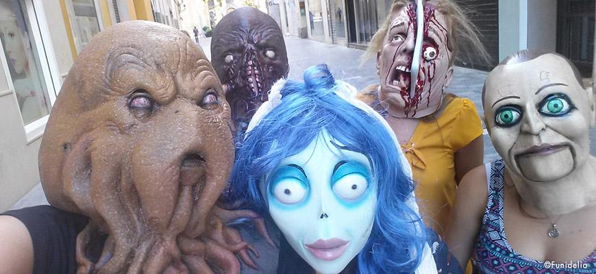 Mascaras Halloween muy realistas de películas de miedo.  1d2cf17de7cbd