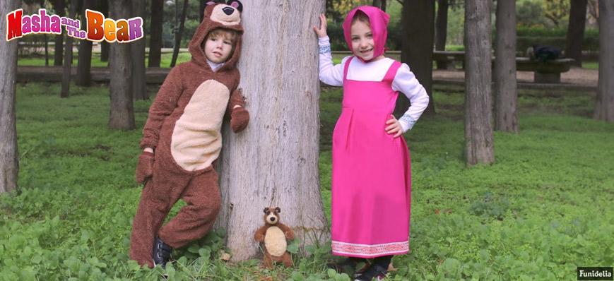 b8af2b0da7a OFFICIAL Masha and The Bear Costumes
